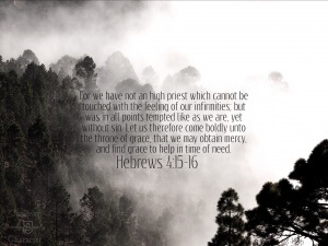 Hebrews 4:15-16 Tablet