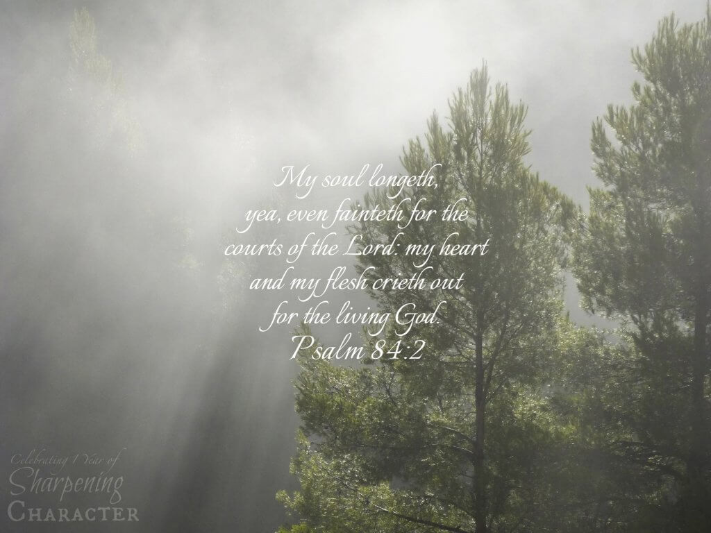 Psalm 84:2 Tablet
