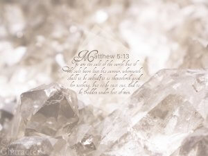 Matthew 5:13 Tablet