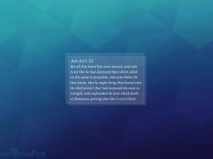 CORE Acts 9:21-22 Tablet