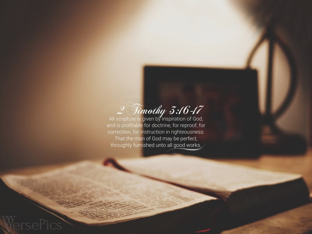 2 Timothy 3:16-17 Tablet