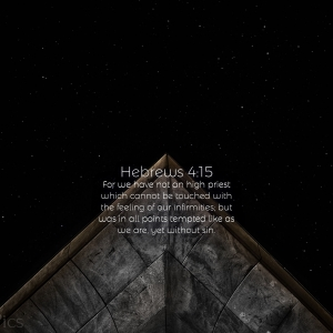 Hebrews 4:15 Tablet