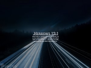 Hebrews 12:1 Tablet