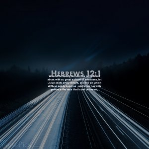 Hebrews 12:1 Phone