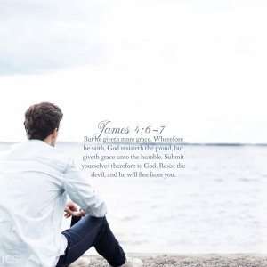 James 4:6-7 Tablet