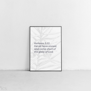 Romans 3:23 Tablet