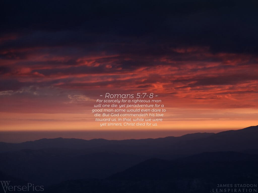 Romans 5:7-8 Tablet