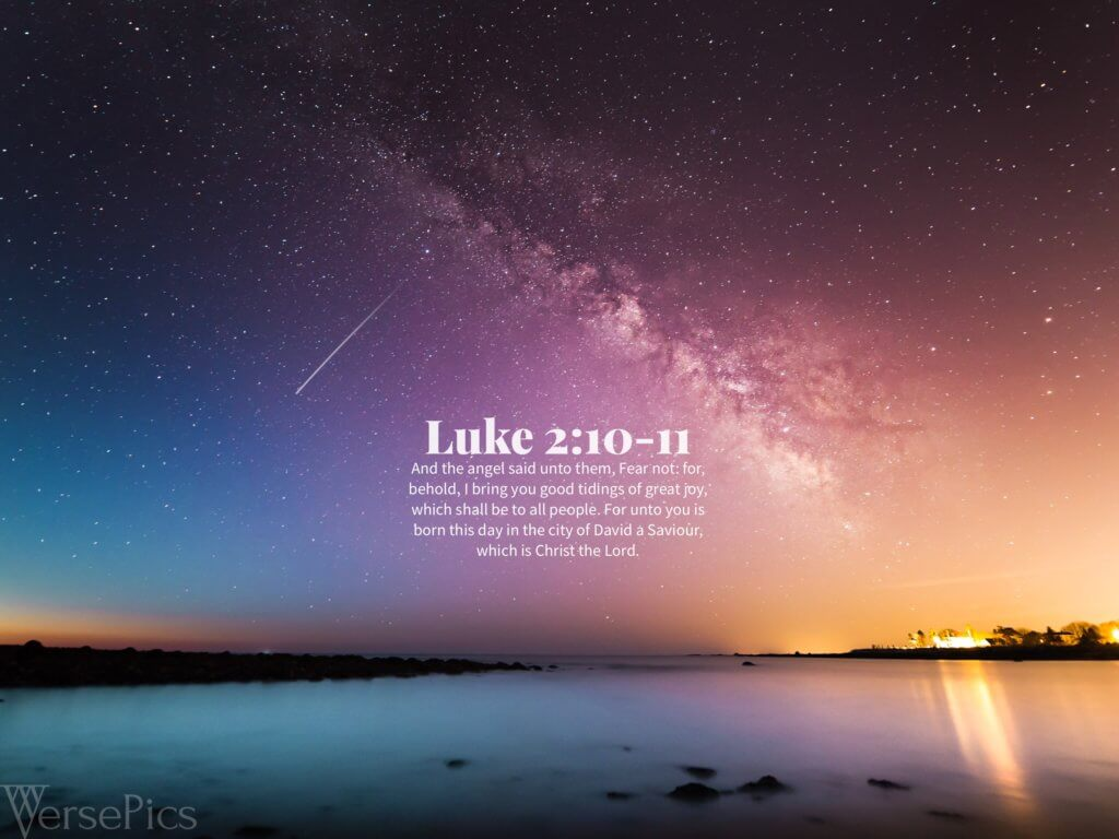Luke 2:10-11 Tablet