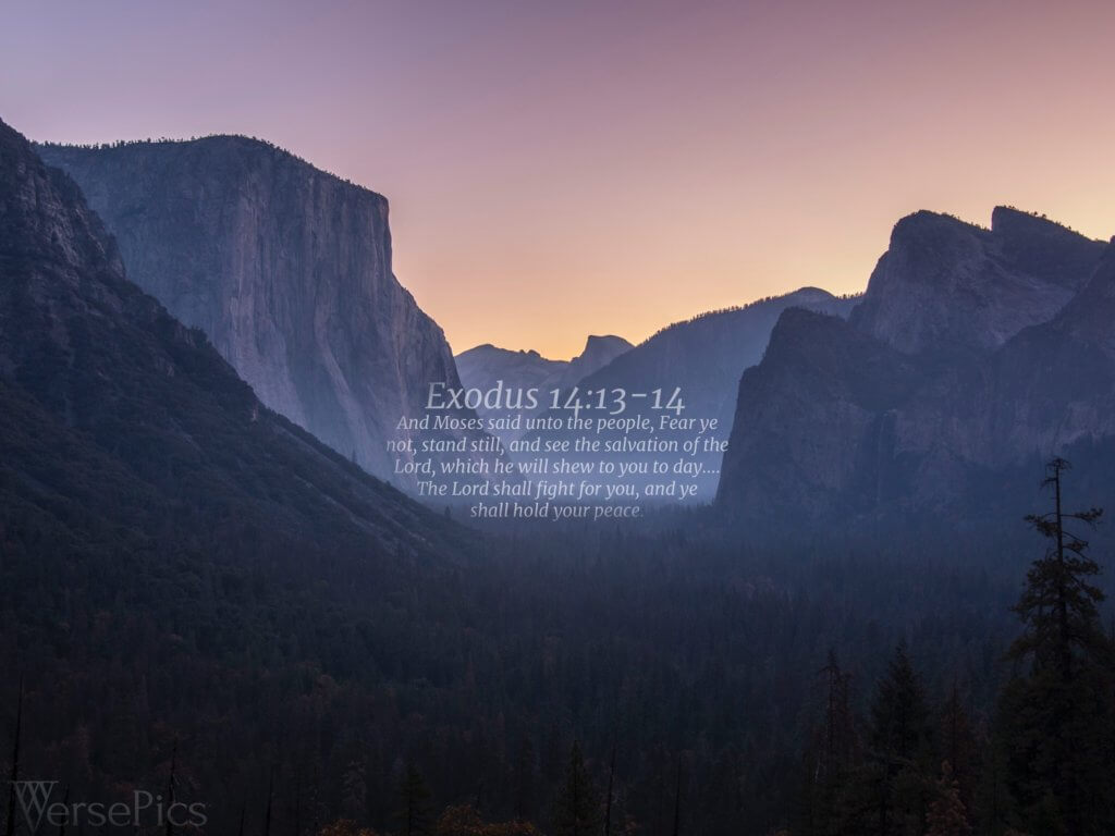 Exodus 14:13-14 Tablet
