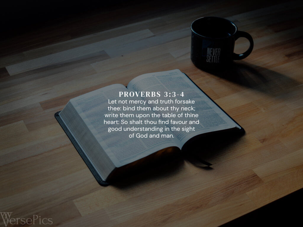 Proverbs 3:3-4 Tablet